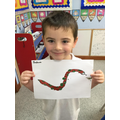 We drew and painted animals to add to our jungle