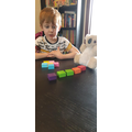 Jenson shared the cubes fairly.