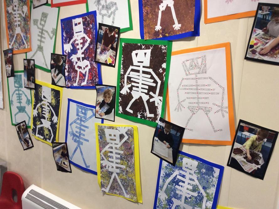 Skeleton printing
