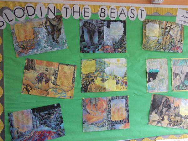 5BH Classroom Display