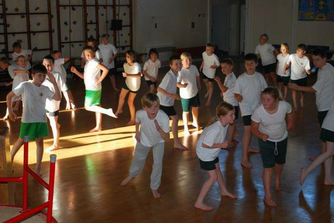PE in the Main Hall