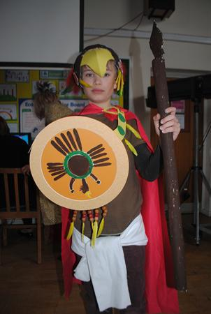 Aztec-Mexican Day 2013