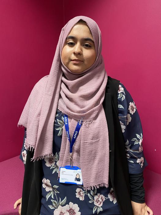 Miss Fatima Bibi - Teaching Assistant