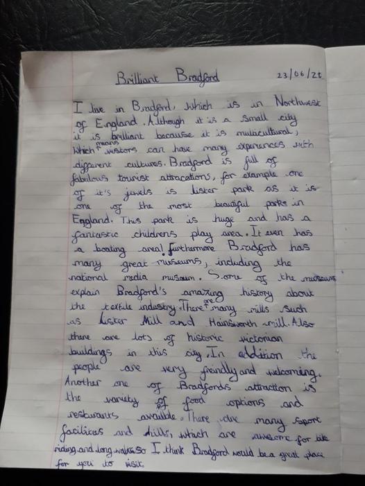 Ziyaad's Persuasive writing