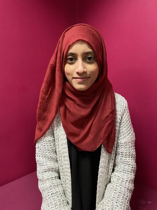 Miss Iqra Shareen - Support Assistant