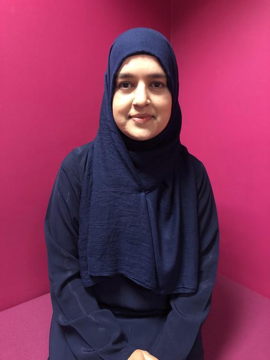 Miss Ghazala Zaman - Teaching Assistant