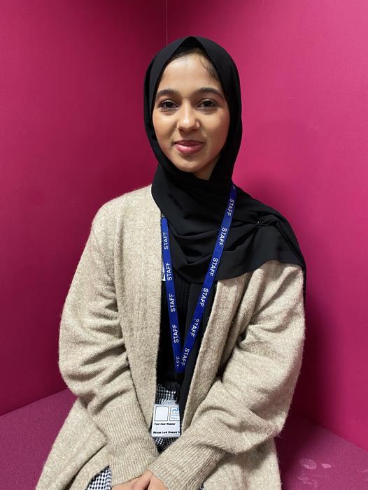 Miss Faatimah Bibi - Support Assistant