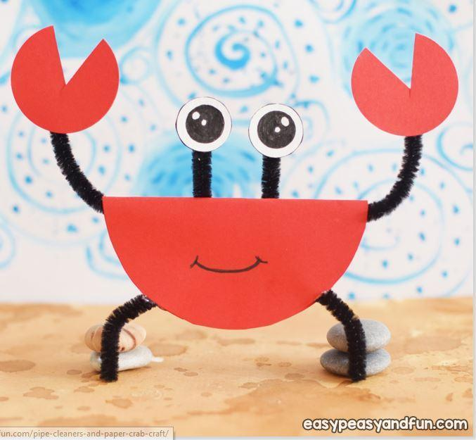 Pipe Cleaner Crab