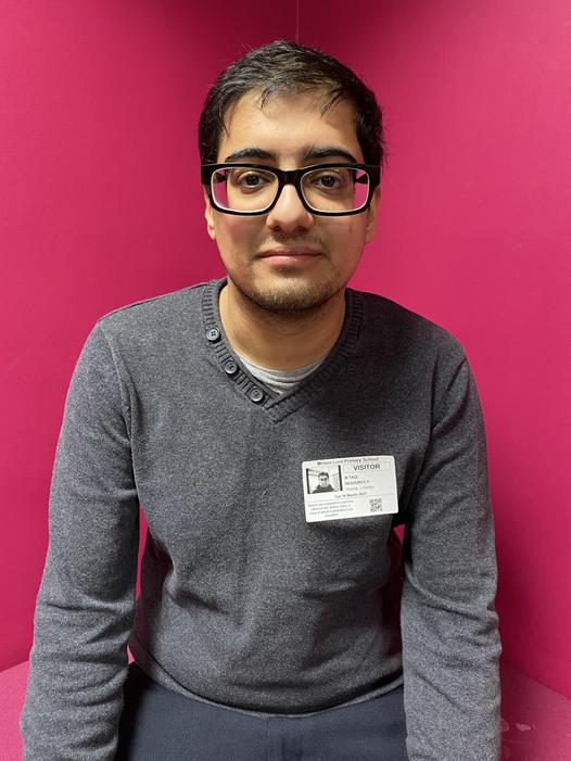 Mr Toqi Amini - Teaching Assistant