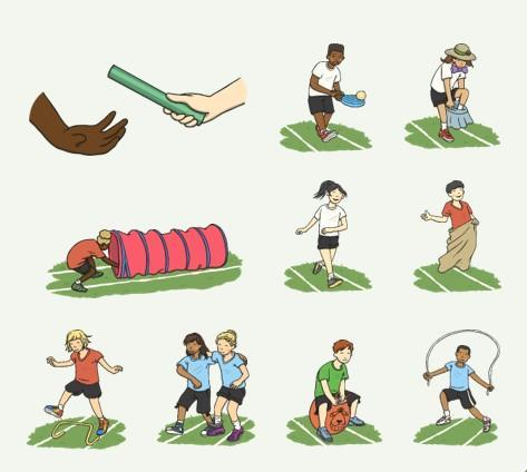 Collaborate with your family and have your very own Sports Day!