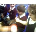 We explored porridge using our senses.
