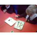 We carefully counted the drops that we used.