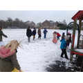 Not only was it World Book Day but it also snowed!