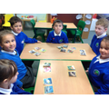 Everyone sorted the animals into different groups.