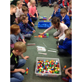 In maths we have been learning about tens and ones
