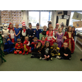 Our World Book Day costumes!