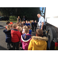 Children's health and safety around trucks visit