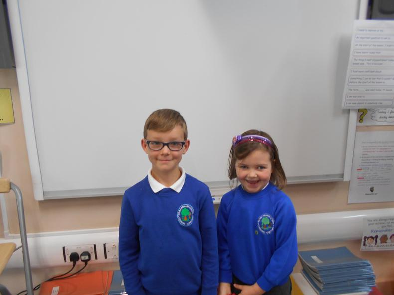 Year 3: Haydon and Grace