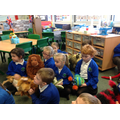 We enjoyed using the different puppets.