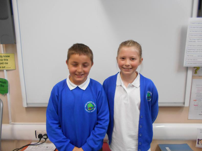 Year 5: Jacob and Charlotte