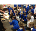 Mrs Santy and Mrs Wigstead had a bake off!