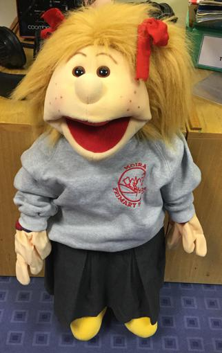 Harmony Sunshine in her uniform.