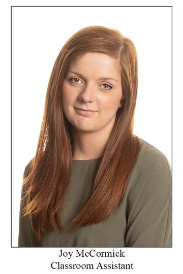 Miss McCormick - Classroom Assistant