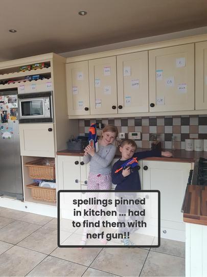 Great idea to learn spellings!