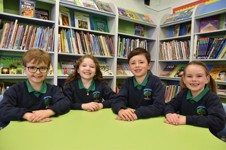 P4 School Council Members