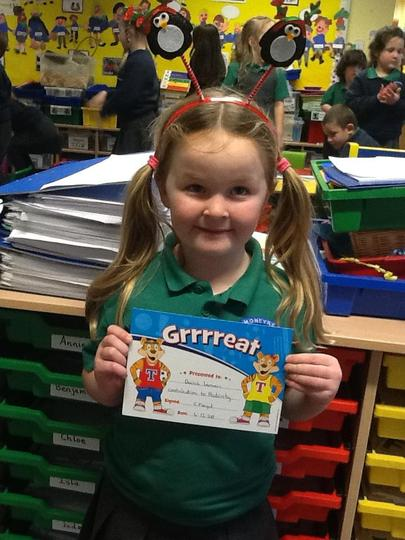 Pupil of the Week - 4th December