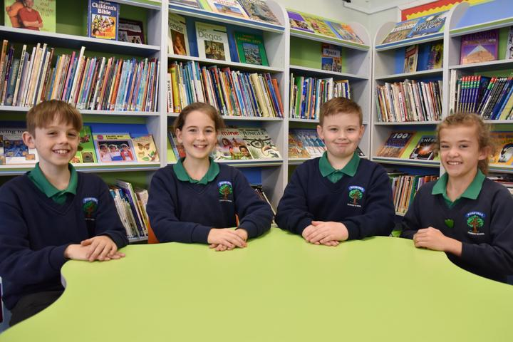 P7 School Council Members
