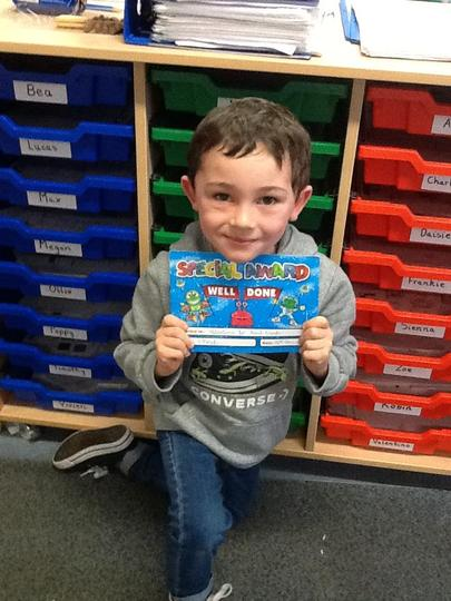 Pupil of the Week - 18th December
