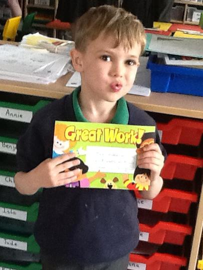 Pupil of the Week - 7th April