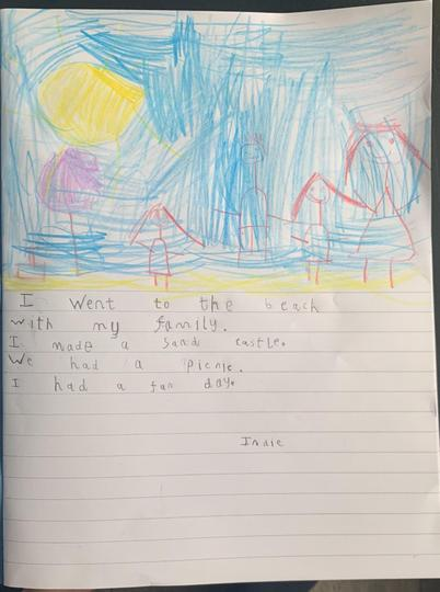 Indie wrote about her day out. Great story Indie!