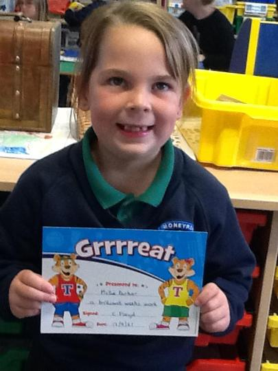 Pupil of the Week - Friday 17th September