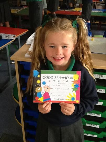 Pupil of the Week - Friday 3rd September