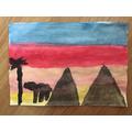 Sarah's painting