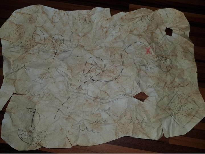 Sophia's treasure map!