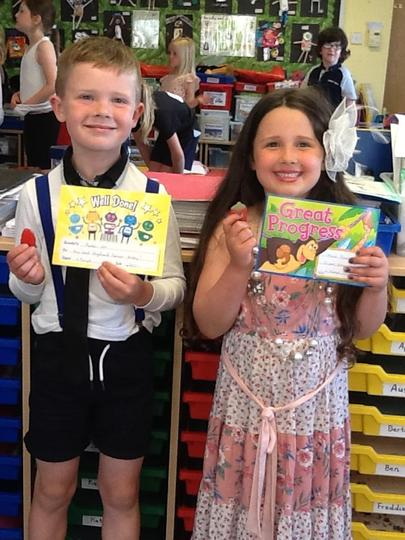 Pupils of the Week - 4th June