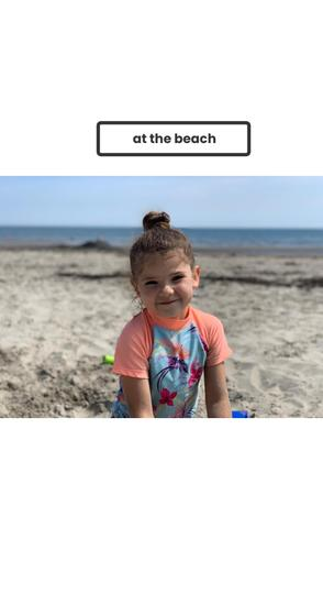 Fun at the beach.