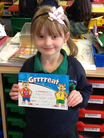 Pupil of the Week - 23rd April
