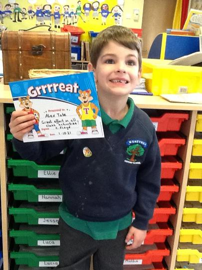 Pupil of the Week - Friday 1st October