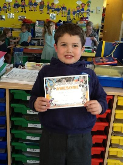 Pupil of the Week - 16th April