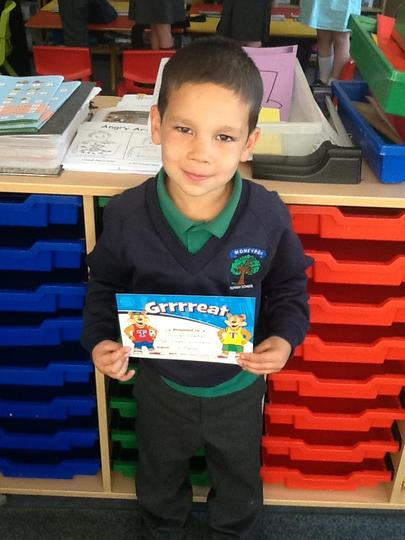 Pupil of the Week - Friday 4th September