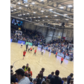 Yr 5 Winners Hoops for Health - playing in the basketball final Newcastle Eagles