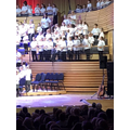 Joining a group of schools to sing together at The Sage - Gateshead