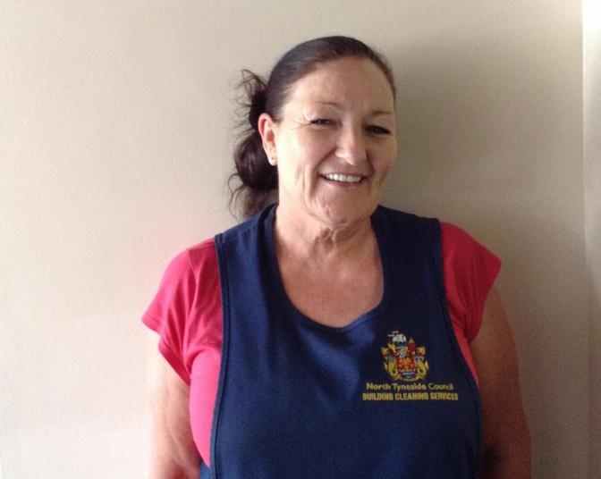 Mrs Janice Amin. Cleaning Supervisor