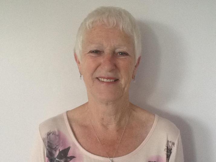 Mrs Ann Belshaw. Midday Supervisor