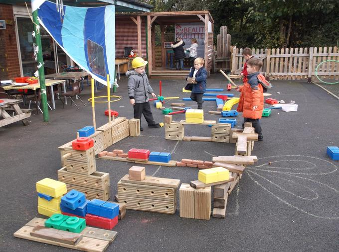 First it was a house and then a pirate ship!
