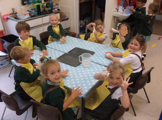 Making 'real' bread for the Little Red Hen